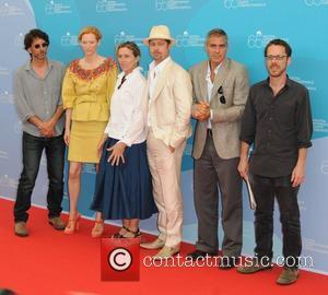 Joel Coen, Brad Pitt and Tilda Swinton