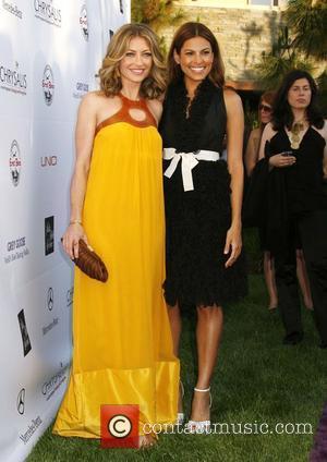Rebecca Gayheart and Eva Mendes