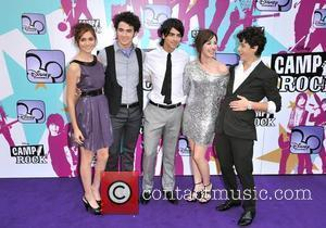 Alyson Stoner, Joe Jonas, Nick Jonas, Demi Lovato and Kevin Jonas