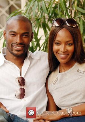 Naomi Campbell and Tyson Beckford in Lagos prior to the THISDAY Africa Rising Festival Lagos, Nigeria - 13.07.08