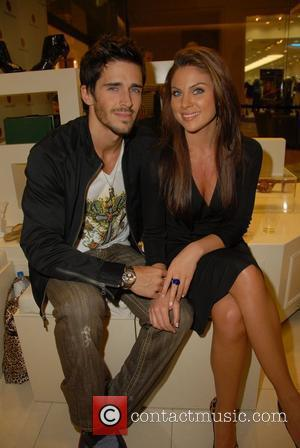 Nadia Bjorlin, Actor Brandon Beemer  Launch of Carmen Steffens 2008 Fall/Winter Collection held at Westfields Fashion Square Mall in...