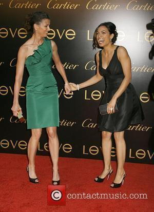 Bridget Moynahan and Rosario Dawson