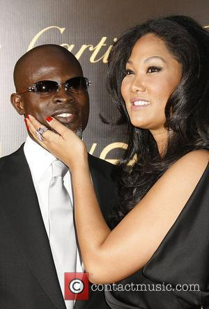 Djimon Hounsou and Kimmora Lee Simmons Cartier Charity Love Bracelet Launch - Arrivals held at a Private Residence  Los...