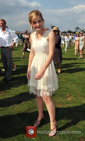 Emma Watson Cartier International Polo tournament held a the Guards Polo Club in Windsor. London, England - 27.07.08