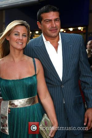 Tamer Hassan with his wife Premiere of Cass held at the Empire cinema London, England - 28.07.08