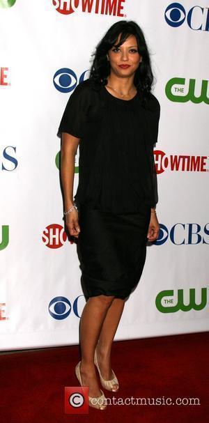Navi Rawat  arriving at the CBS TCA Summer 08 Party at Boulevard 3  Los Angeles, California - 18.07.08