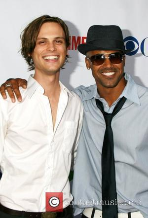 Matthew Gray Gubler and Shemar Moore arriving at the CBS TCA Summer 08 Party at Boulevard 3 Los Angeles, California...