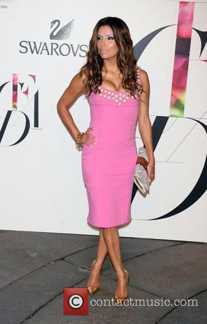 Eva Longoria and Cfda Fashion Awards