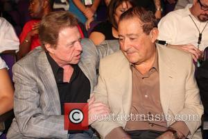 Steve Lawrence and Promoter Bob Arum