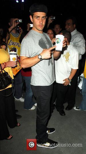 Joey McIntyre Leaving the Lakers game at the Staples Center Los Angeles, California - 10.06.08