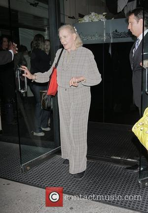 Lauren Bacall arrives at Mr Chow's  Los Angeles, California - 04.06.08