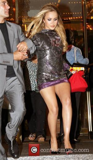Hayden Panettiere outside her Manhattan hotel New York City, USA - 05.09.08