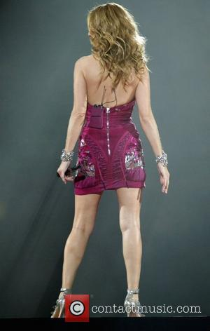 Celine Dion performs live in concert at the Verizon Center on her 2008-09 Taking Chances World Tour Washington, USA -...