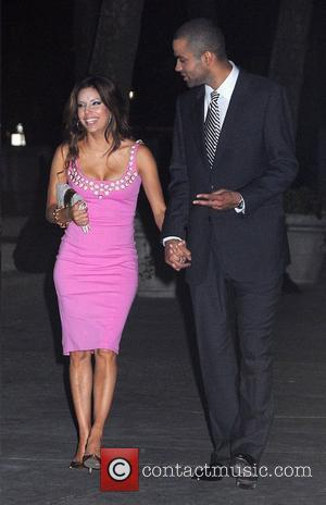 Eva Longoria, Husband Tony Parker and Cfda Fashion Awards