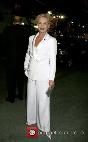 Carolina Herrera leaving the CFDA Fashion Awards at the New York Public Library New York City, USA - 02.06.08