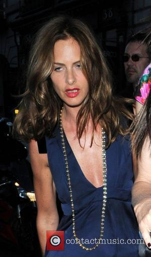 Trinny Woodall Chanel Boutique opening - departures London, England - 10.06.08