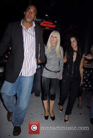 Christina Aguilera leaving the Chateau Marmont after an MTV Video Music Awards afterparty Los Angeles, California - 07.09.08
