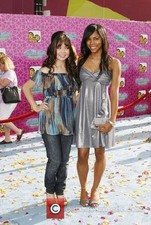Anna Maria Perez de Tagle and Shanica Knowles The Los Angeles Premiere of 'The Cheetah Girls One World' held at...