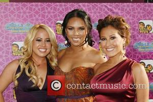 Sabrina Bryan and Adrienne Bailon