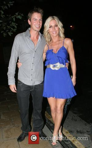 Ashley Taylor Dawson and guest arriving at Chris fountains 21st birthday party held at The Loft Leeds, England - 06.09.08
