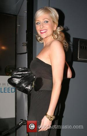 Gemma Merna arriving at Chris fountains 21st birthday party held at The Loft Leeds, England - 06.09.08