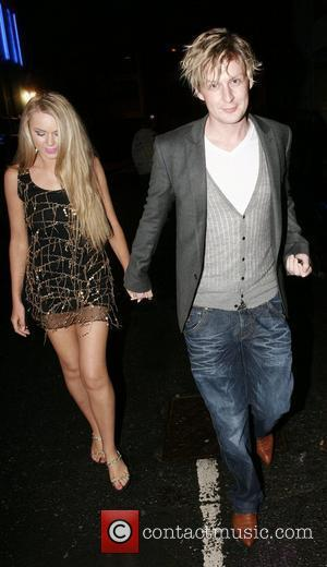 Gerard McCarthy and guest arriving at Chris fountains 21st birthday party held at The Loft Leeds, England - 06.09.08