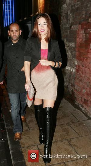 Roxanne McKee arriving at Chris fountains 21st birthday party held at The Loft Leeds, England - 06.09.08