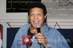 Chubby Checker performs and signs copies of his new CD 'All The Best' at J & R Music and Computer...