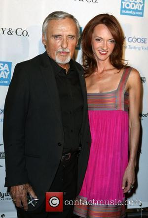 Dennis Hopper and Victoria Duffy CineVegas Honorees Reception poolside at Planet Hollywood Resort Hotel & Casino Las Vegas, Nevada -...