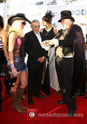 Dennis Hopper at the screening of 'The Rockers' at the CineVegas 10th Anniversary Film Festival at the Palms Casino Las...