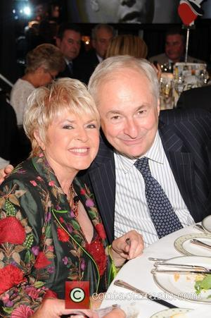 Gloria Hunniford and Guest Cliff Richard's 50th Anniversary Tribute Lunch at the Dorchester Hotel to aid the Variety Club Children's...
