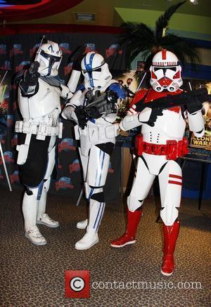 Clone Troopers, Planet Hollywood and Times Square