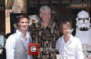 James Arnold Taylor, Tom Kane, Matt Lanter and Egyptian Theater