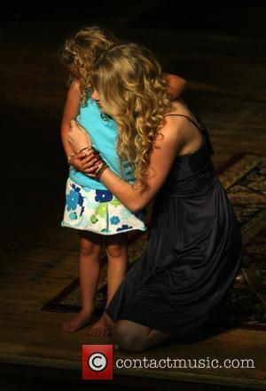 Taylor Swift and A Young Fan