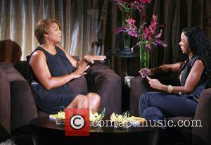 Queen Latifah and Ananda Lewis