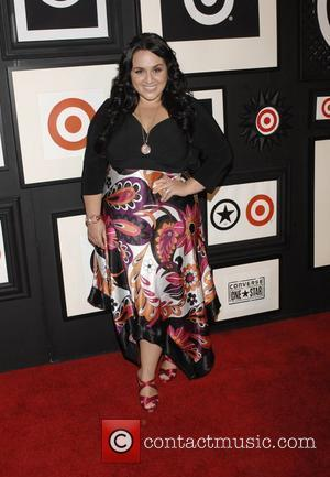 Nikki Blonsky arrives at the Target and Converse One Star Collection Movie Awards after party at the Lot in West...