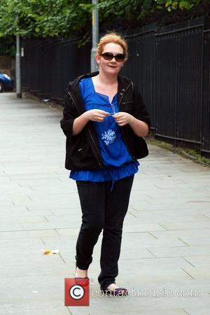 Jenny Mcalpine arriving to film scenes for coronation street at Granada Studios. Manchester, England - 04.08.08