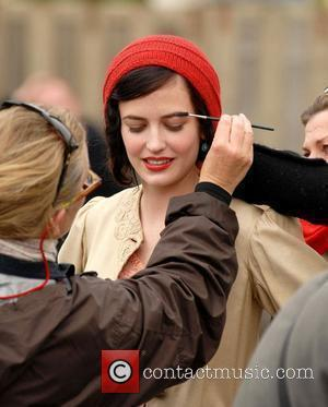 Eva Green  On the set of the feature film 'Cracks'  Wicklow, Ireland - 27.05.08.