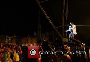 Craig David performing live at Praca do Comercio Lisbon, Portugal - 09.08.08