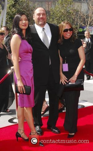 James Gandolfini 60th Primetime Creative Arts Emmy Awards at the Nokia Theatre - arrivals Los Angeles, California - 13.09.08