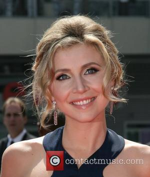 Sarah Chalke 60th Primetime Creative Arts Emmy Awards at the Nokia Theatre - arrivals Los Angeles, California - 13.09.08