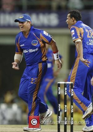 Shane Warne Final of the IPL Rajisthan Royals against Chennai Super Kings Mumbai, India - 01.06.08