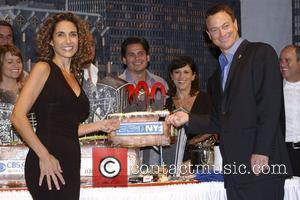 Melina Kanakaredes and Gary Sinise CSI: NY 100th episode celebration at Studio City Los Angeles, California - 16.09.08