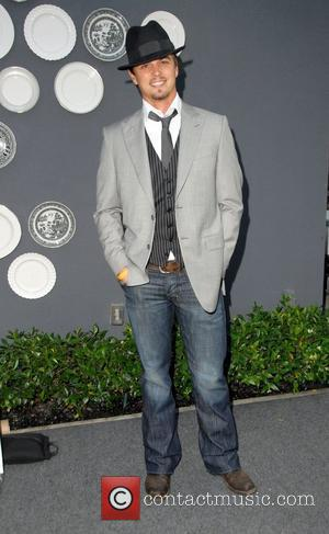 Darin Brooks arrives at the TMG International CUUR Style LA Swim & Resort Fashion Show held at Viceroy Hotel Santa...