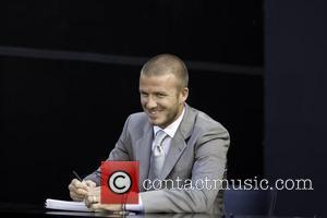 David Beckham and Billboard
