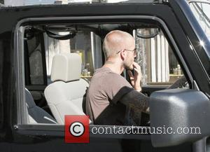 David Beckham  drives his custom Jeep through Beverly Hills Los Angeles, California - 17.06.08