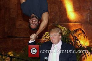 David Blaine and Donald Trump