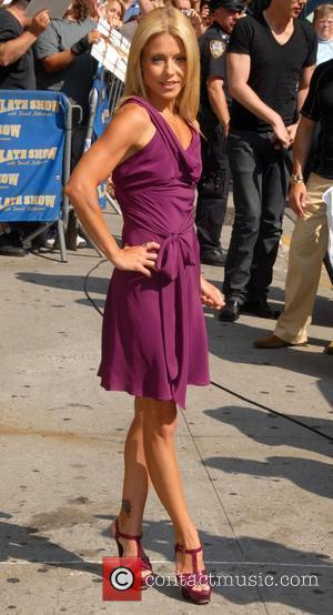 Kelly Ripa, David Letterman and The Late Show With David Letterman