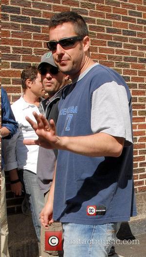 Adam Sandler, Cbs and David Letterman