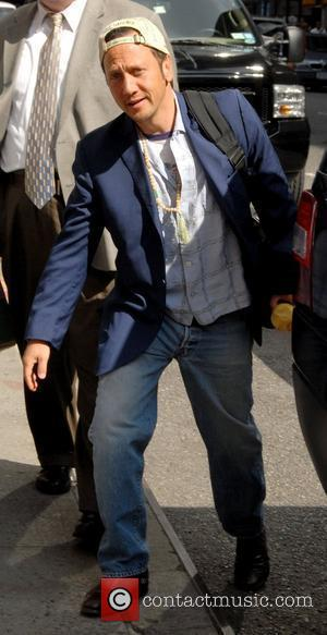 Rob Schneider arrives to appear as a guest on CBS' 'Late Show with David Letterman' New York City, USA -...